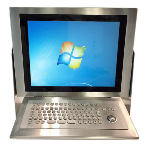 PC INOX 17T front keyboard & support