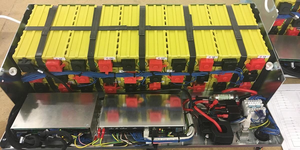 Battery Pack al litio per AGV/LGV