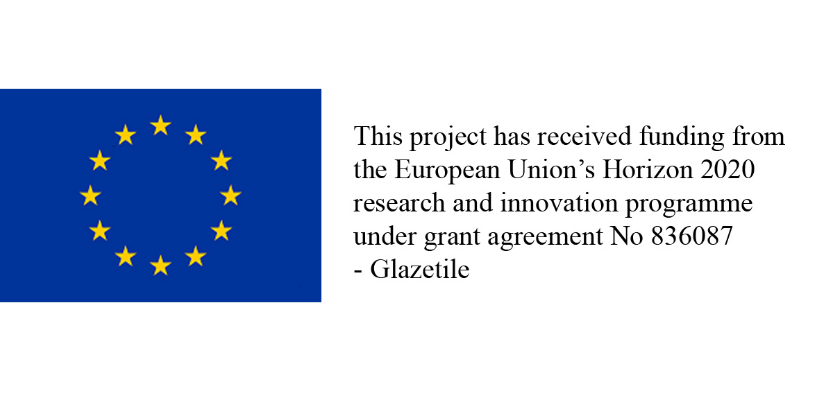 """SCE partecipates in the """"Glazetile"""" project funded by the European Union (Horizon 2020)"""