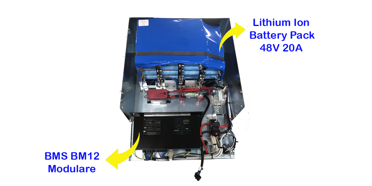 Nuovo Battery Pack 48V 20Ah